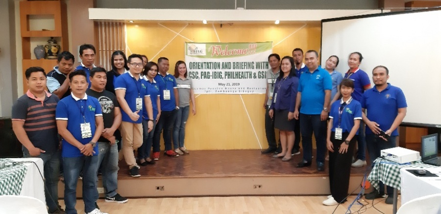 May 21, 2019 - Orientation and Briefing on Pag-IBIG, Philhealth and GSIS Programs