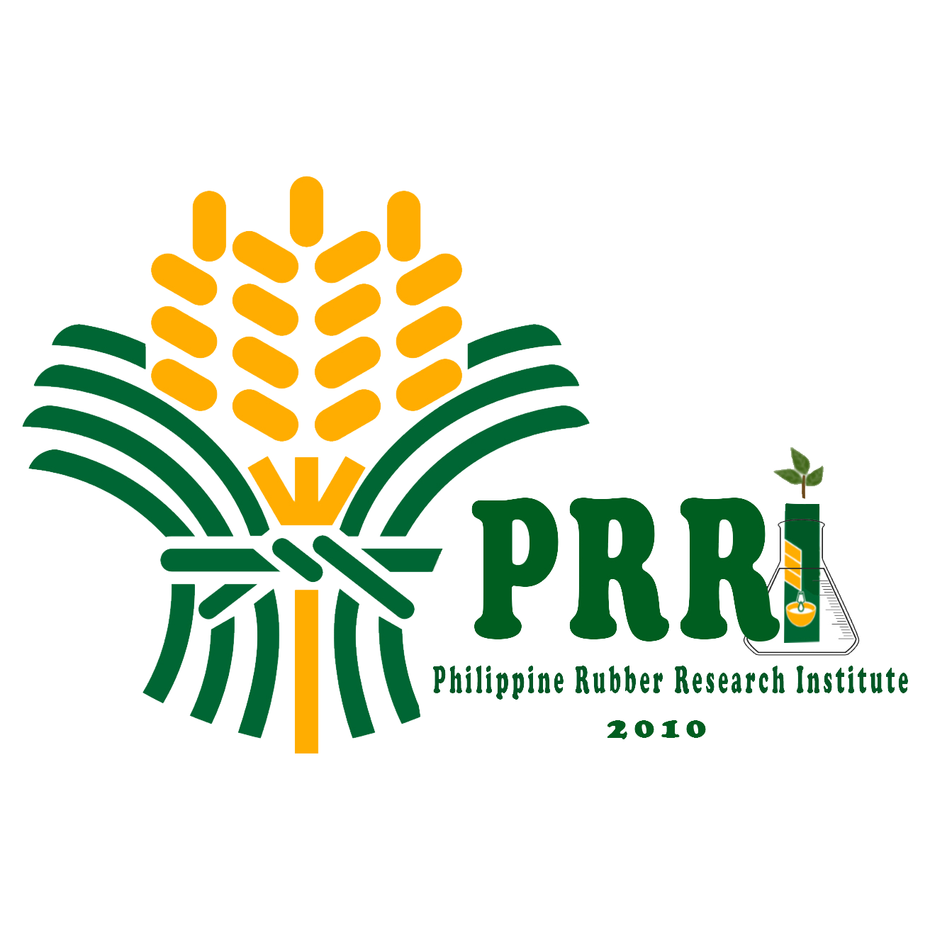 Philippine Rubber Research Institute Official Logo